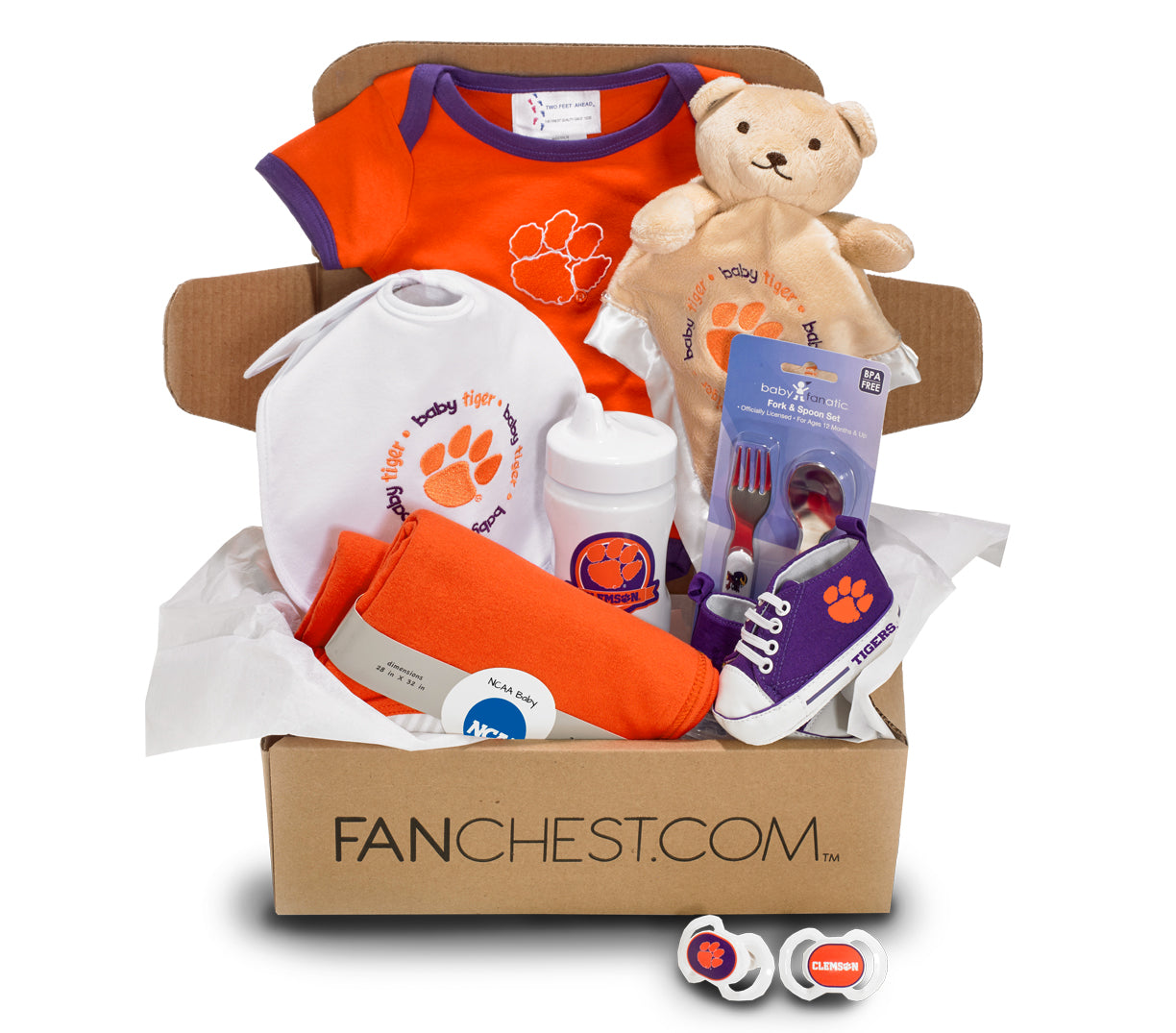 Clemson Baby Gift Box Clemson Infant Gear Fanchest