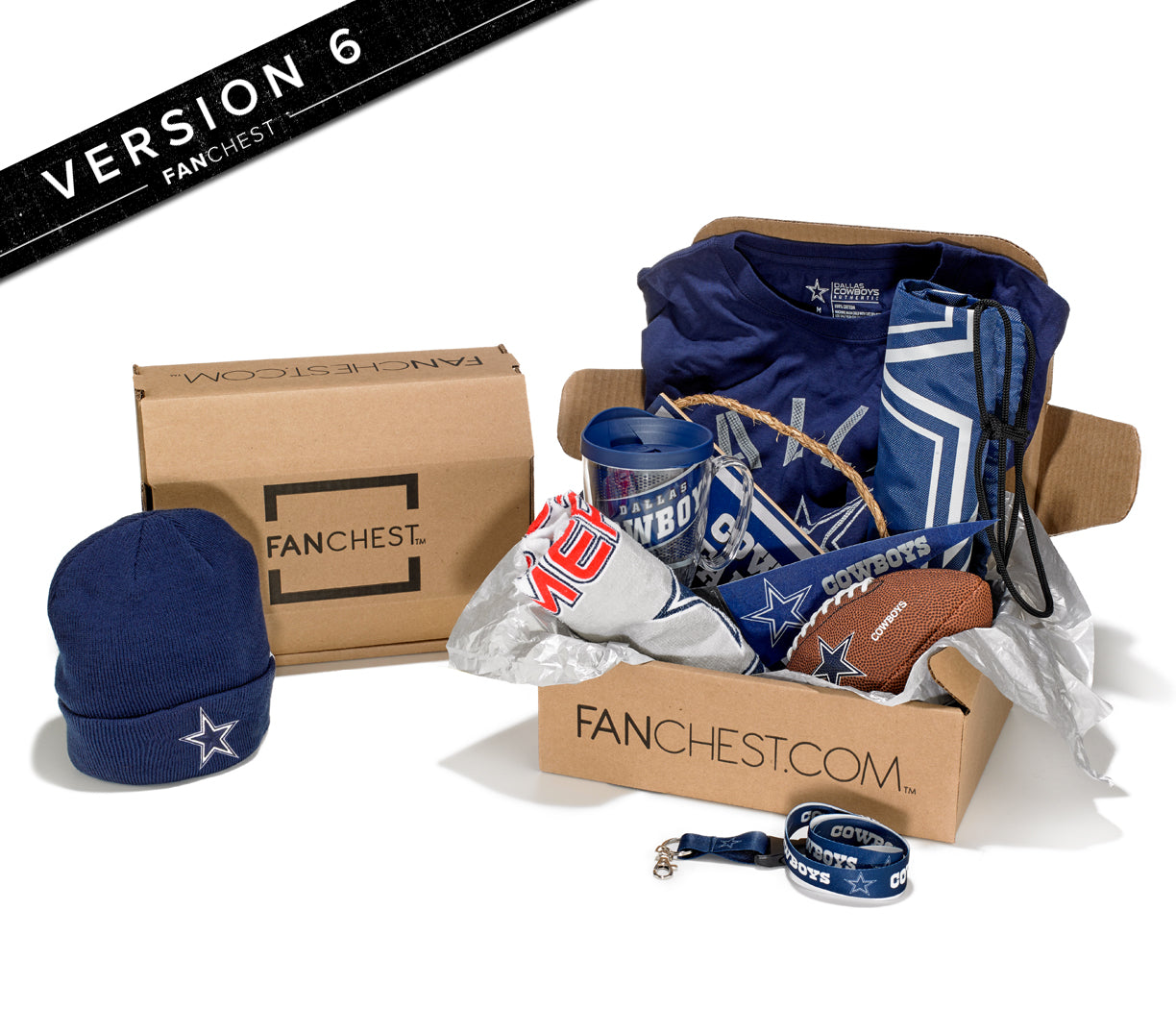 Dallas Cowboys Gift Box Gifts For Cowboys Fans
