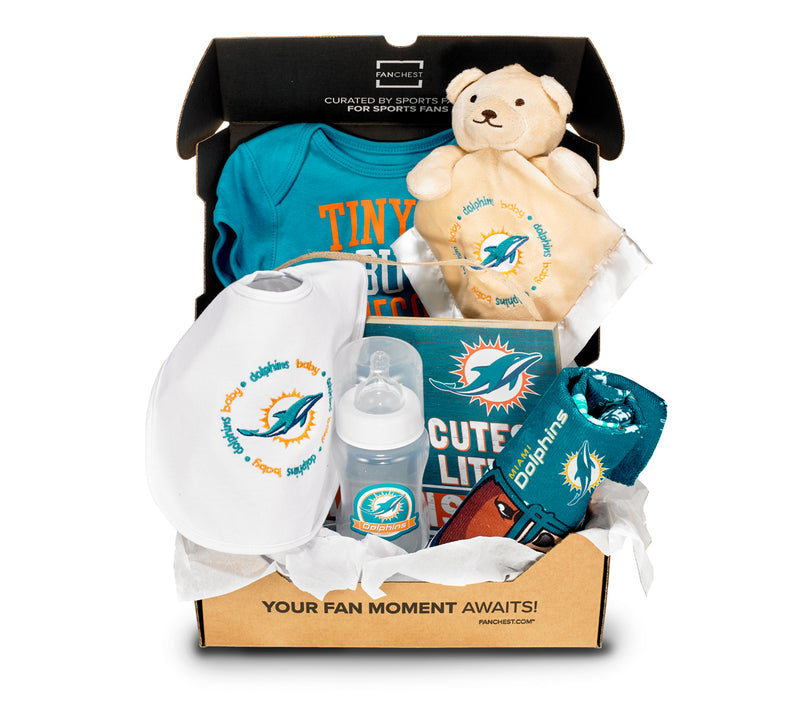 check out 96e2c e843c Miami Dolphins Baby FANCHEST