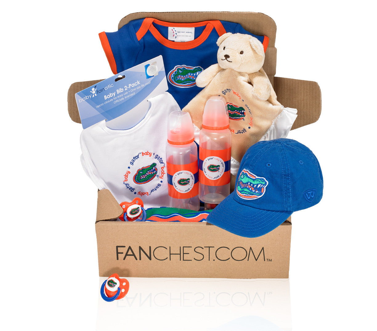 Florida Gators Baby Gift Box Baby Gators Gear Fanchest