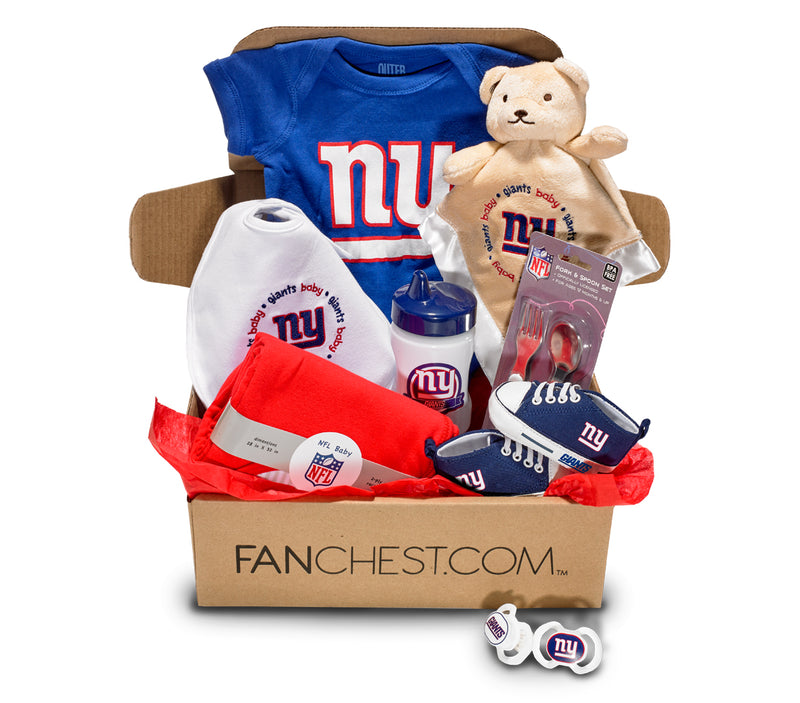 New New York Giants Baby Box | Baby Gear | Baby Shower Box  free shipping