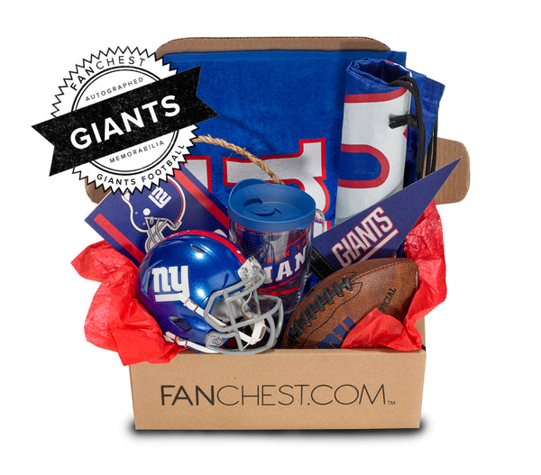 Giants Memorabilia FANCHEST Deluxe