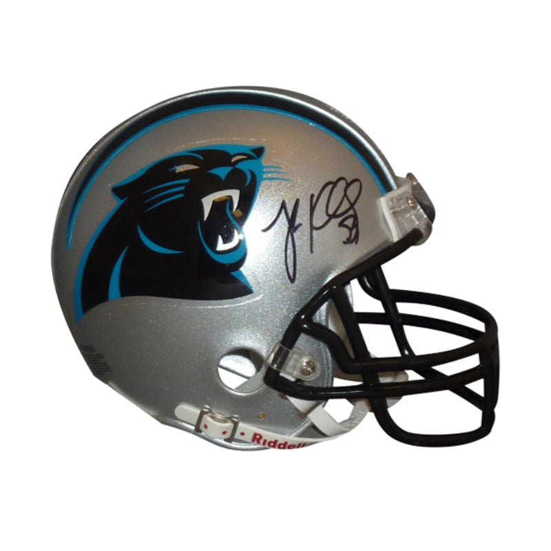 low priced a3fab 767ca Panthers Memorabilia Gift Box | Signed Mini Helmet Included
