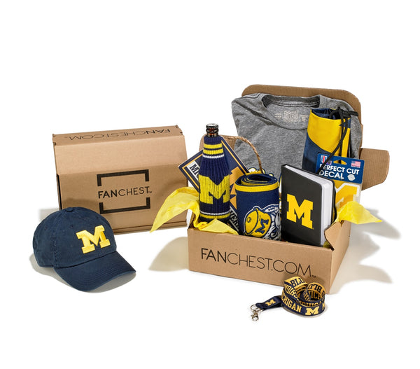Michigan Wolverines FANCHEST Deluxe