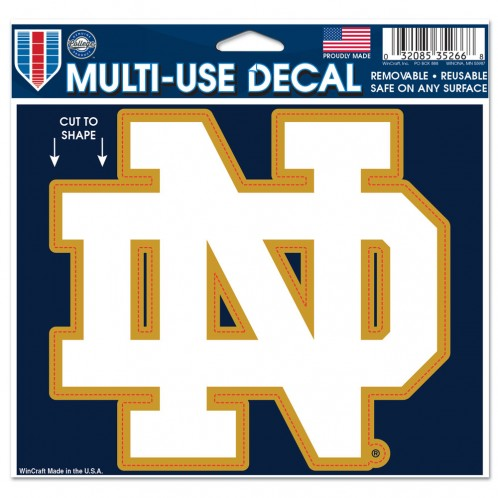 Notre Dame Decal