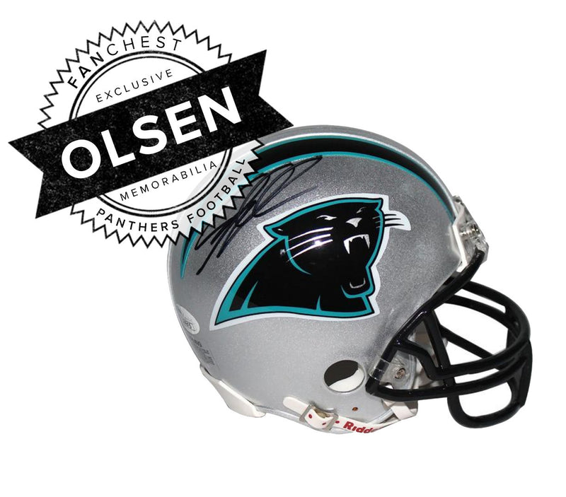 Greg Olsen Signed Mini Helmet