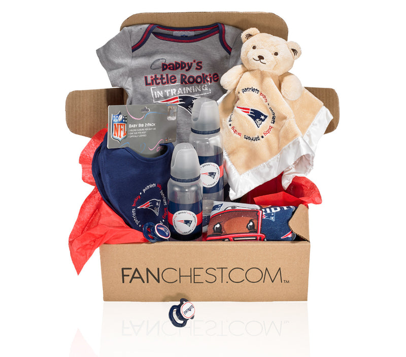 New England Patriots Baby Gear Patriots Baby Apparel