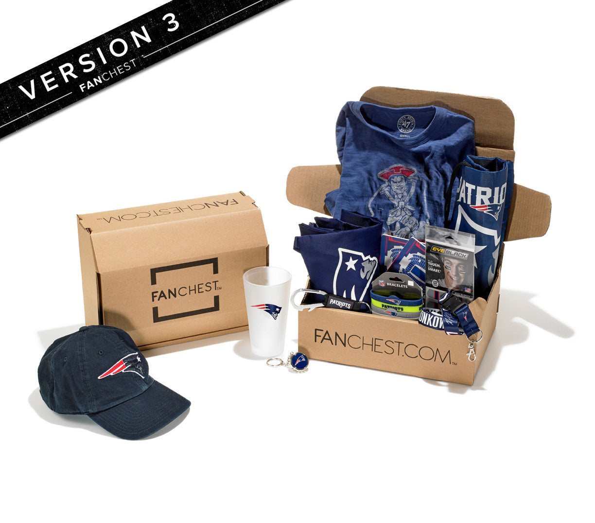 New England Patriots FANCHEST III