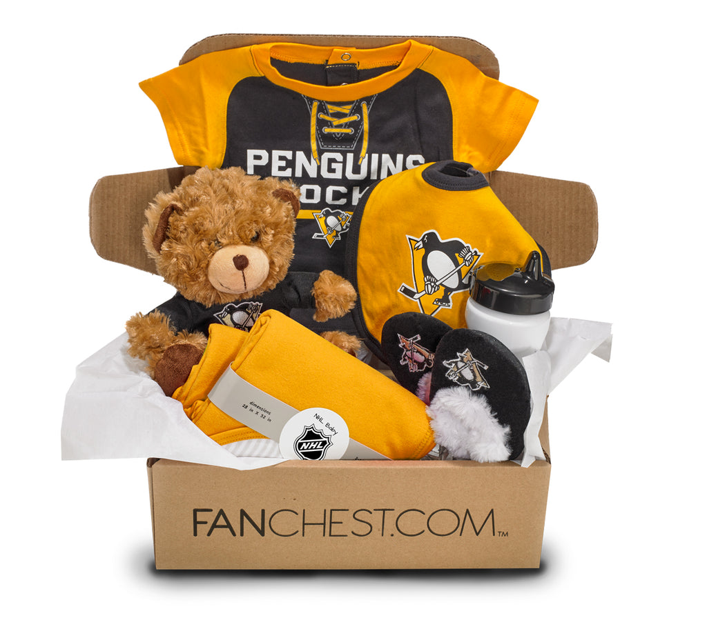 Pittsburgh Penguins Baby Gift Box Penguins Baby Gear