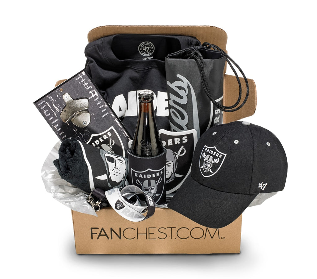 Oakland Raiders Gift Box Raiders Gear Great Gift For