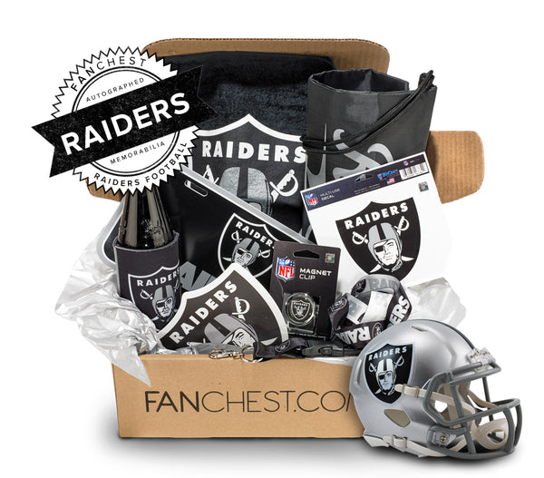 Raiders Memorabilia FANCHEST DELUXE