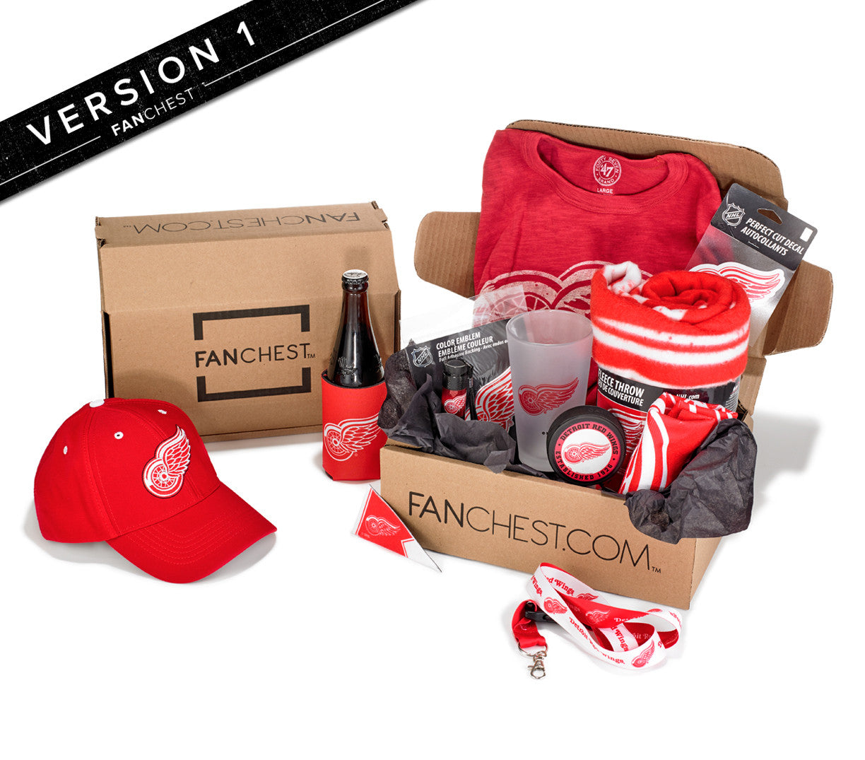 Detroit Red Wings FANCHEST I