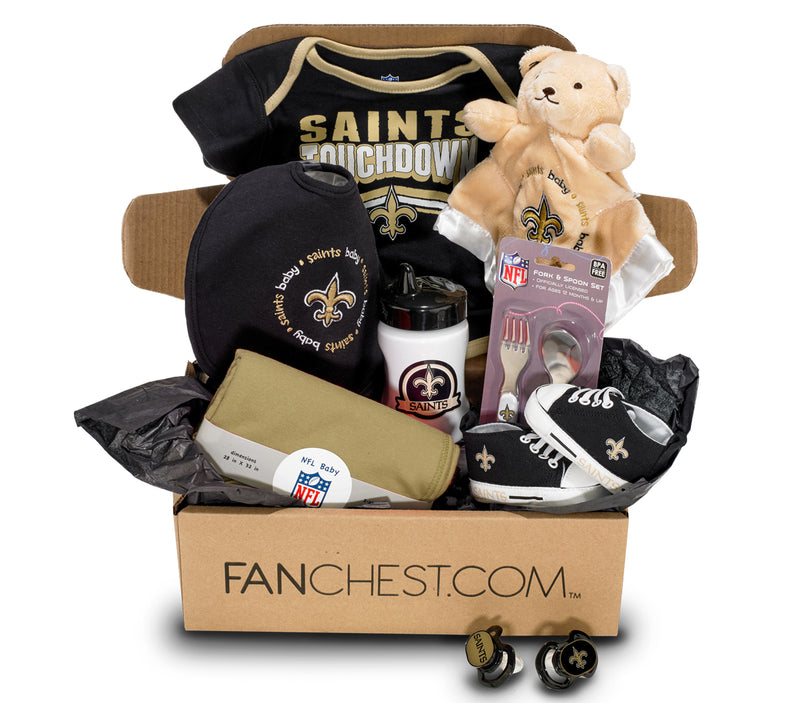 New Orleans Saints Baby Clothes Saints Baby Gear Fanchest