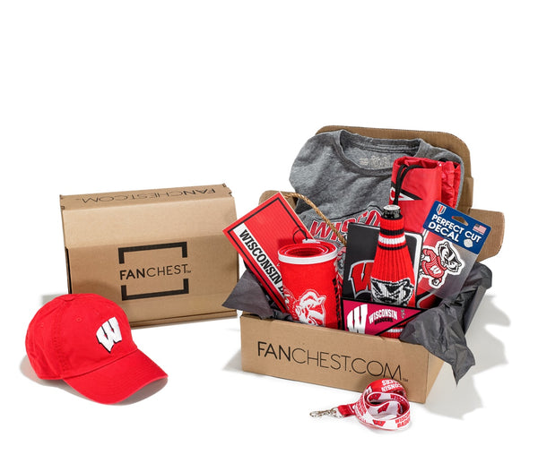 Wisconsin Badgers FANCHEST Deluxe