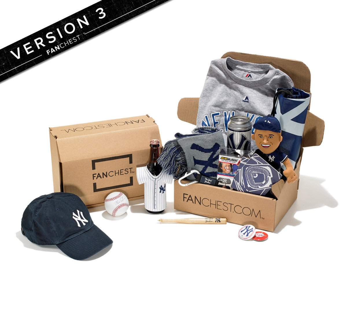Yankees gift box ny yankees gifts for Gifts for new yorkers