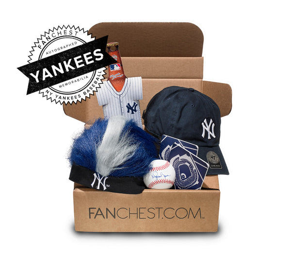 Yankees Memorabilia FANCHEST III