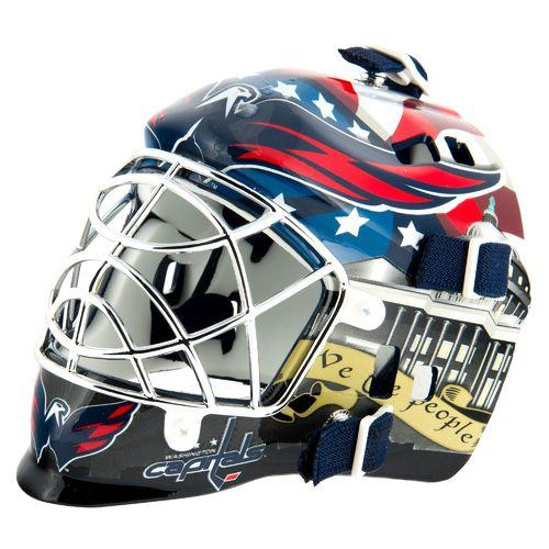 Capitals Goalie Mask
