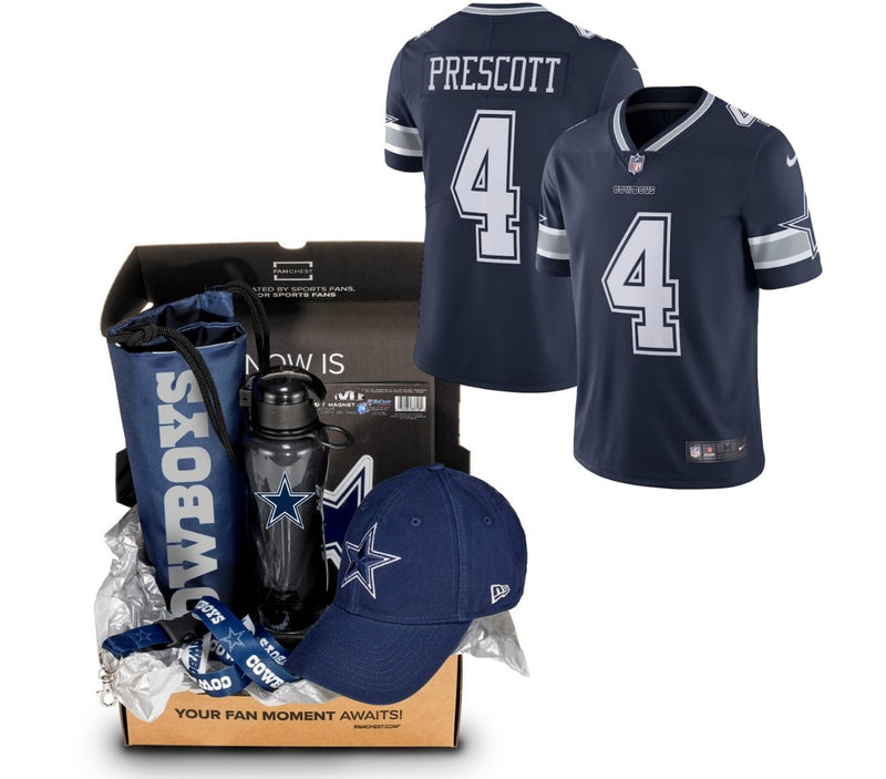 134e8f21eee Dallas Cowboys Jersey Gift Box | Jersey + Other Merchandise | FANCHEST