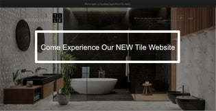Come Experience Our NEW Tile Website