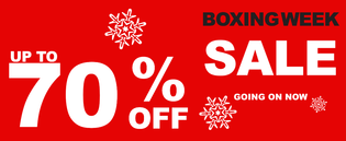 Canaroma Boxing Week Sale