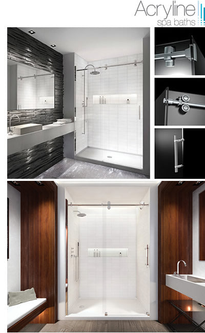 Acryline shower doors