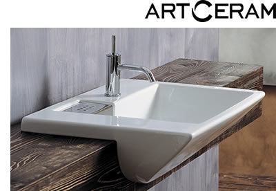 artceram washbains, designer bathroom sinks