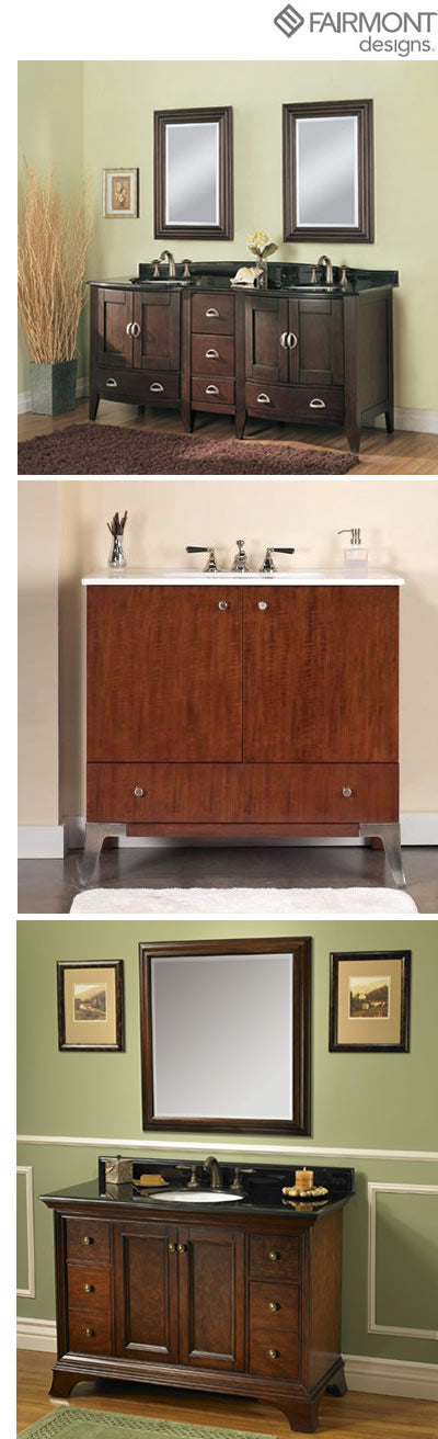 fairmont vanities in traditional u0026 modern styles - Fairmont Vanities
