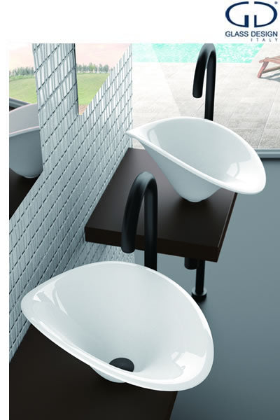 vessel sinks, glass vessel sinks