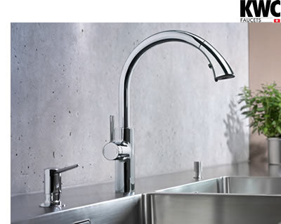 kwc faucets, kitchen faucets