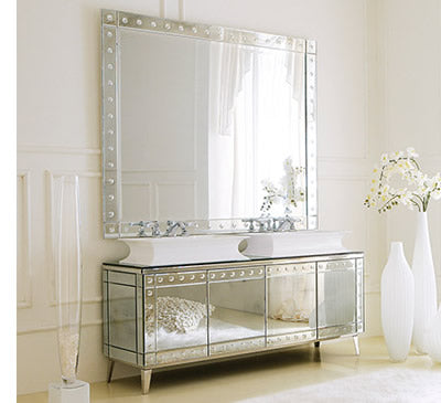 mirror vanity, traditional vanity