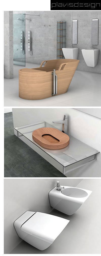 plavisdesign tubs, toilets, sinks, vanitites