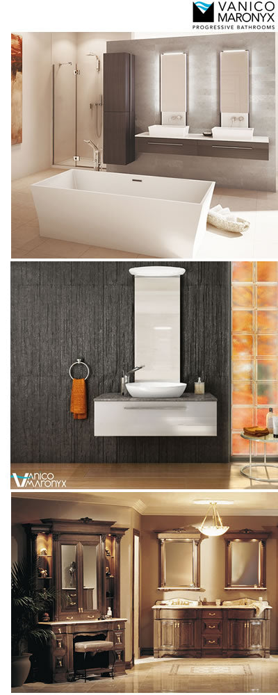 Custom Bathroom Vanities Montreal vanico maronyx bathroom vanities. custom bathroom vanities