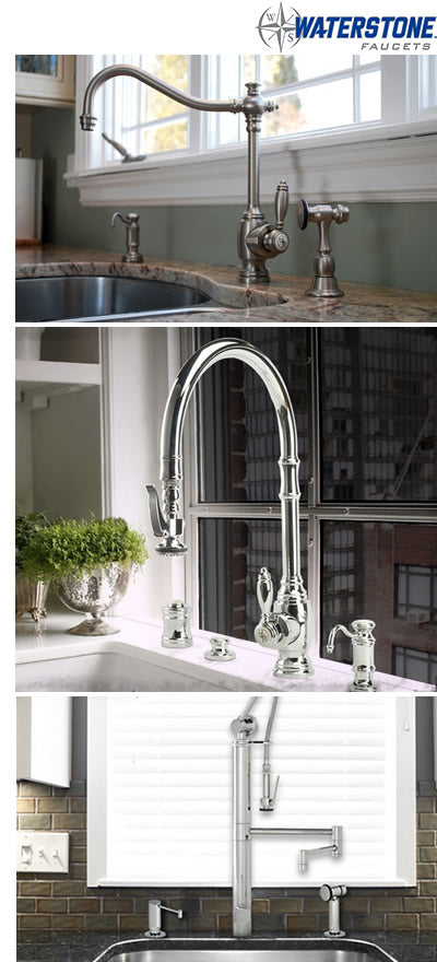 Waterstone kitchen faucets