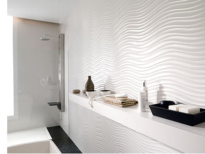 Decorative 3D Tiles: Textured wall tiles in porcelain and ...