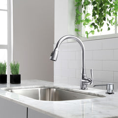 Kraus kitchen faucet in chrome