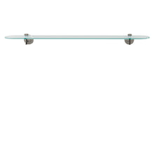 Aquabrass wallmount glass shelf accessory