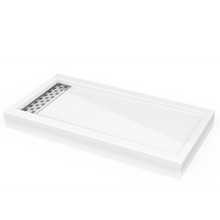 Fleurco ABE QUAD shower Base with Linear Drain Cover