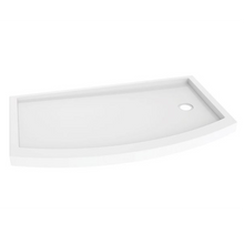 Fleurco ADQ BOWFRONT Shower Base with Side Drain