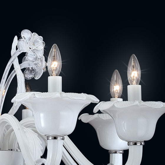 Eurofase 8 Light Chandelier Veronica