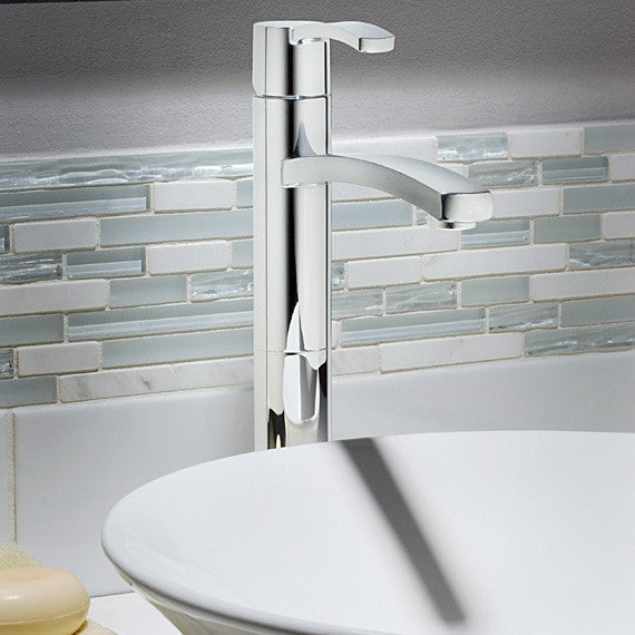 American standard bathroom faucet boulevard tall vessel for Bathtub for tall people