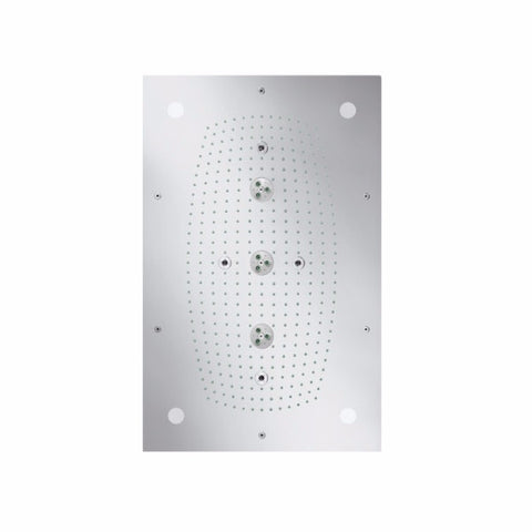 Hansgrohe Rainhead Shower Raindance Rainmaker 680 x 460 mm Air 3-Jet with Lighting