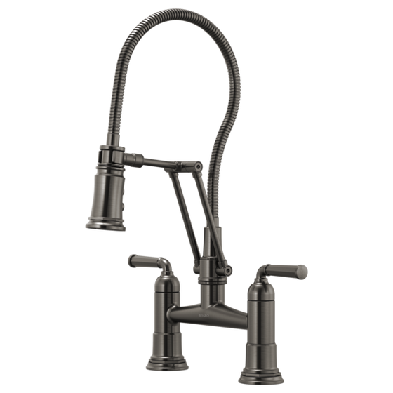Brizo Kitchen Faucet Rook with Finished Hose
