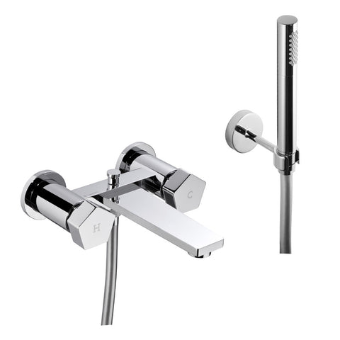 tub faucet, hand shower