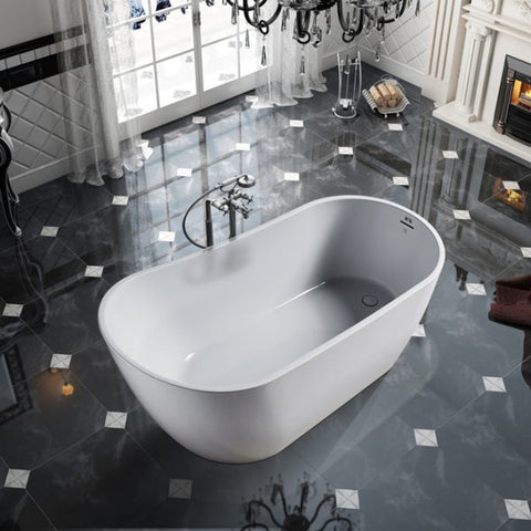 Bagno Italia Freestanding Bathtub Alps 59""