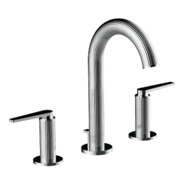 Santec Widespread Bathroom Faucet Athena Lever Handle