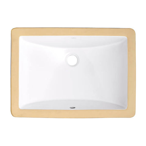 DXV by American Standard Bathroom Sink Webster Rectangular Under Counter