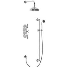 Samuel Heath concealed thermostatic shower set Royal Crown Derby