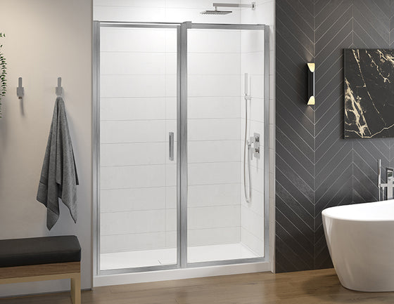 Fleurco Elera Shower Door In-Line