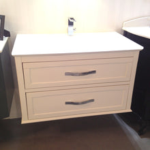 Aquos Bathroom Vanities Francia White