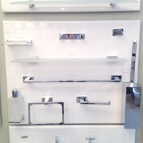 Colombo design bathroom accessory look 9 piece canaroma for Colombo design outlet